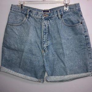 NorthCrest   High Waisted Boyfriend Jean Shorts